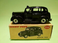 DINKY TOYS 254 AUSTIN - TAXI - BLACK - VERY GOOD CONDITION IN BOX