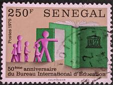 Stamp Senegal 1979 250Fr Internal Bureau of Education Used