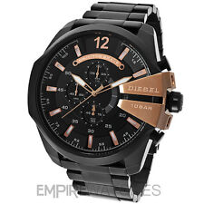 **NEW** DIESEL MENS MEGA CHIEF CHRONOGRAPH ROSE GOLD WATCH - DZ4309 - RRP £220