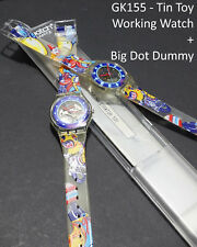 Swatch GK155 Tin Toy full set + Big Dot Prototype GK155P1