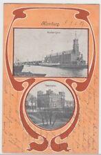 (103793) AK Amburgo, Kaiser Kai, Seewarte, più immagine carta 1902