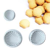 3pcs DIY Sugarcraft Mould Fondant Cake Cutter Bakeware Decor Biscuits Mold Tools