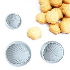3tlg. Schale Form Kuchen Spulenkern Ausstechformen Sugarcraft Fondant Mold