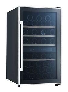 Weinkühlschrank Weintemperierschrank 49 Flaschen 2 Zonen Kühlschrank respekta