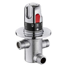 3 Holes Thermostatic Mixing Valve Temperature Control for Water Heater Welcome