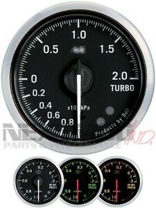NEW DEFI RS STYLE 60mm Gauges, Boost, AFR, Oil, Vacuum, EGT, Water; C2 BF CR ZD
