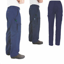 LADIES COTTON DRILL CARGO PANTS WORKWEAR CLOTHES WORK WEAR 3322 DNC