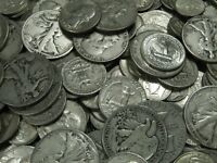 90% Junk Silver US Coins lot of 1/2 oz. Standard Wt. Pre-1965 No Clad Or Nickels