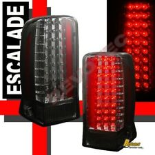 2002-2006 Cadillac Escalade Smoke LED Tail Lights Lamps 1 Pair