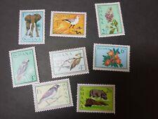1964 GHANA Africa Birds N Animals Full Set MM
