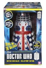 DOCTOR WHO 12-inch 50th Anniversary Collector Edition Dalek  British Flag Colors