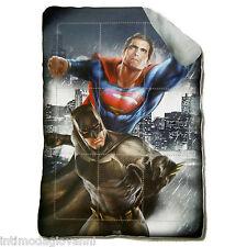 Trapunta Invernale Batman Vs Superman Piumone 180x260cm Imbottitura 320gr/mq