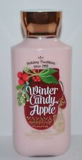NEW BATH BODY WORKS WINTER CANDY APPLE LOTION CREAM SIGNATURE SHEA VITAMIN E 8OZ