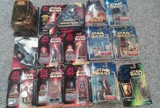 Star Wars POTF2 ROTS Episode 1 Mixed Lot of 14 Figures couple very  rare pieces