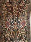 Kashmir 'Tree Of Life' Wool Crewel Chain Stitch Tapestry India 3' X 5' Pristine