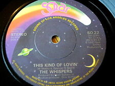 """The Whispers-This Kind Of épicer' 7"""" vinyle"""