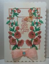 Birthday/Wedding/Flowers/Special Day Card
