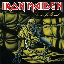 IRON MAIDEN - Piece Of Mind (Vinyl LP) 2012 Sanctuary 412151 - NEW / SEALED