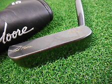 "USED TAD MOORE PEACH PUTTER BLADE STYLE 34.5"" PUTTER TAD MOORE P3 BLADE PUTTER"