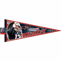 Tom Brady New England Patriots Collectible Pennant