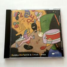 Bobby McFerrin & Chick Corea – Play (CD 1992) Blue Note CDP 7 95477 2