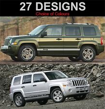 jeep patriot side stripes decals stickers graphic side stripe both sides