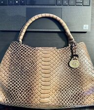 Authentic Brahmin Handbag - Medium - Leather - Brown