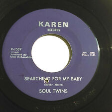 """SOUL TWINS Searching For My Baby / Mr Pitiful NORTHERN SOUL 7"""" HEAR Karen"""