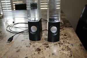 USED - Dancing Water speakers