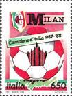 # ITALIA ITALY - 1988 - Milan Winner - Calcio Football Soccer Sport Stamp MNH