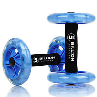 5BILLION AB Wheel Rollers Double Core Abdominal Wheels Workout for Ab Training