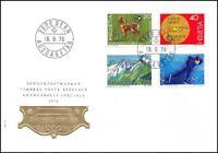 FDC Suisse - Timbres poste spéciaux 16.9.1976