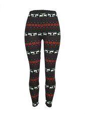 Reindeer Snowflake Christmas Leggings Tall & Curvy Yoga TC Buttery Free Shipping
