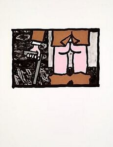 CARROLL DUNHAM 'Untitled', 2006 SIGNED Limited Edition Etching Print 14x11 ed 30