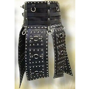 Real leather Armour LARP costume Leather Armour medieval Costume Leather kilt