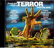 SOUNDS FROM A NIGHT OF TERROR SPOOKY HALLOWEEN HAUNTED HOUSE EFFECTS & MUSIC OOP