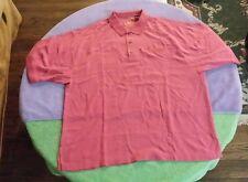 2006 Old Pasadena CA Jazz Fest Festival Size 2XL  Red Polo Silk Shirt Concert