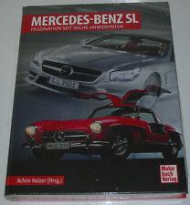 Bildband Mercedes Mercedes Benz 300 320 350 500 560 SL W 113 R 107 129 198 NEU