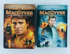 Macgyver The Complete First & second Season 6 set Dvd s / 3 set Dvds