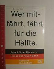 Aufkleber/Sticker: Deutsche Bundesbahn wer mitfährt fährt für die (171216129)