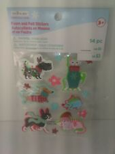Foam And Felt Stickers 14pc