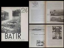 BATIR N°24 1934 PAQUEBOT PRINCE BEAUDOUIN, MICHEL POLAK, BERLAGE, CANNEEL-CLAES