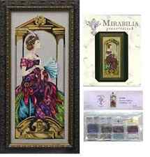 Mirabilia Cross Stitch Pattern and Embellishment Pack Venetian Opulence Md99