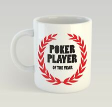 Poker Player Of The Year Funny Mug Gift Novelty Humour Birthday