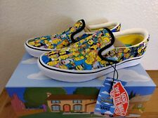 Vans x The Simpsons Slip On ComfyCush Springfield NEW VN0A3WMD1TJ Unisex Size