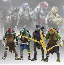 "2017 4pcs TMNT Teenage Mutant Ninja Turtles Movie 5"" Action Figure TMNT Toy Gift"