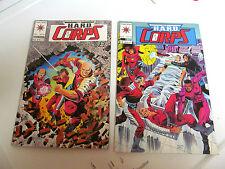 LOT 2 * VALIANT COMICS *THE H.A.R.D.  CORPS *1994 # 19.  &  # 21.   F/F