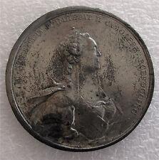 1774 Russia Catherine II medal Russo - Turkish war Treaty of Kuchuk XF, RARE
