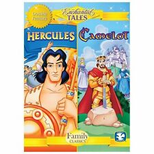 Enchanted Tales: Camelot & Hercules (DVD, 2013) Cartoon Double Feature
