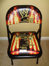 WWE Judgement Day Wrestling Chair 2003 Ringside Seat BRAND NEW VERY RARE WWF